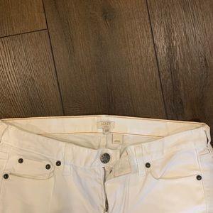 J. Crew Jeans - J. Crew Women's White Stretch Matchstick Jean 29R